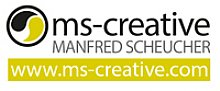 Logo ms creative Manfred Scheucher
